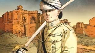 Couverture de la bande dessinée «Churchil», de François Kersaudy, Vincent Delmas et Alessio Camardella.