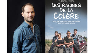 Le roman photo «Les racines de la colère» de Vincent Jarousseau aux éditions Les Arènes.