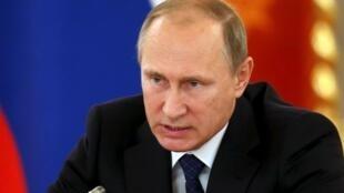 Президент России Владимир Путин, 1 октября 2015.