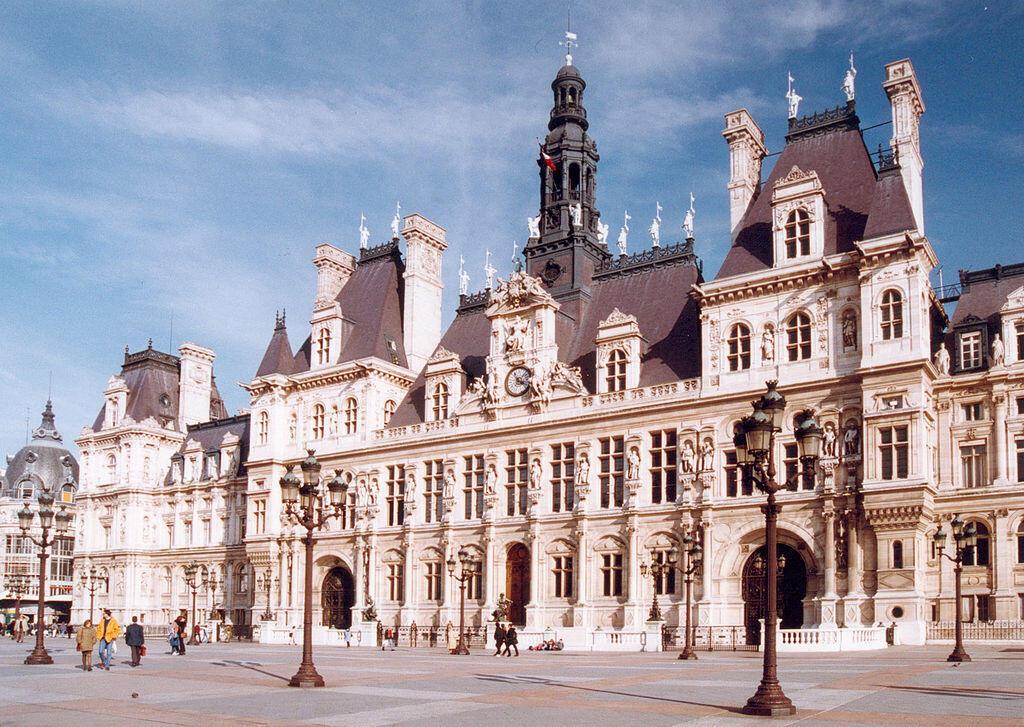 Paris City Hall.