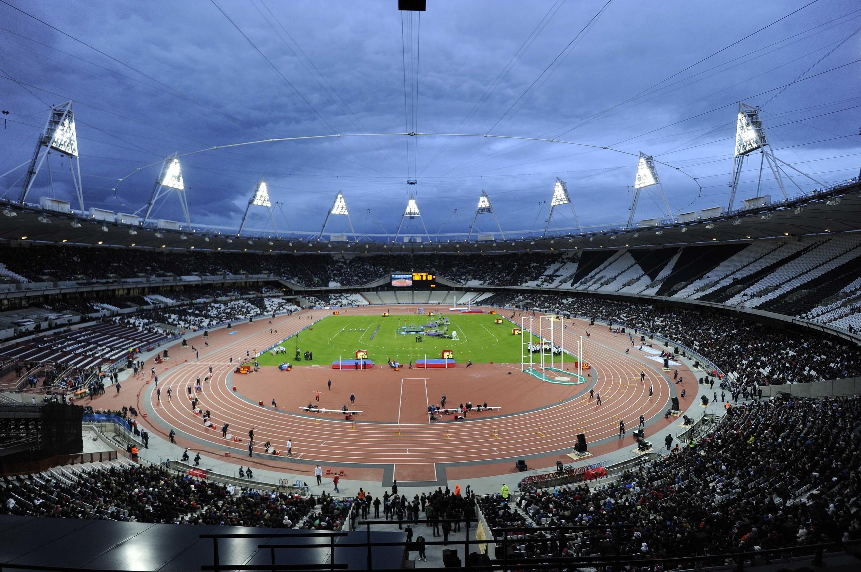 Олимпийский стадион в Лондоне, 5 мая 2012 года