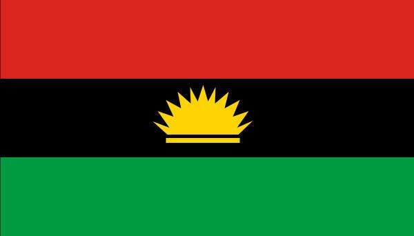 Drapeau du Biafra.