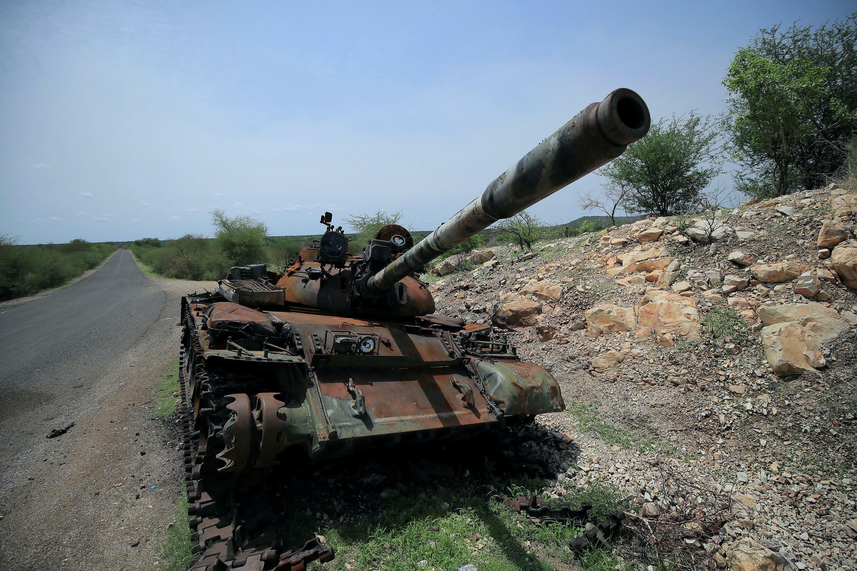 Tank Tigray Ethiopia