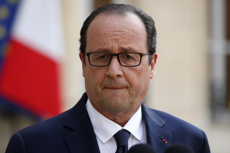 O presidente da França, François Hollande, completa hoje 60 anos.