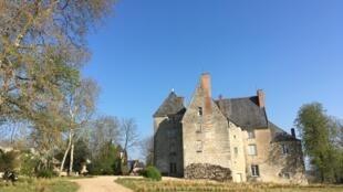 Замок Саше в Турени, музей Оноре де Бальзака