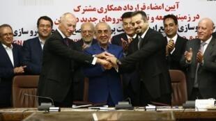 امضای قرارداد رنو با شرکای ایرانی