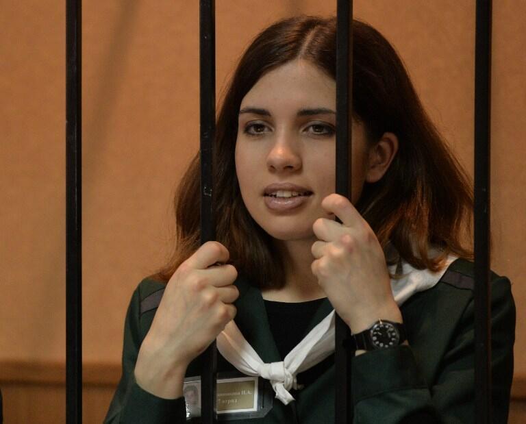 Надежда Толоконникова в апреле 2013 года