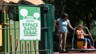 A partir de 1° de janeiro de 2019, quem desrespeitar a proibição de fumar em parques e jardins de Estrasburgo poderá ser punido com uma multa de € 68 (cerca de R$ 296).
