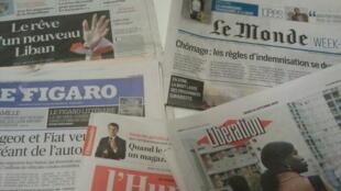 Primeiras páginas dos jornais franceses 31 de outubro de 2019