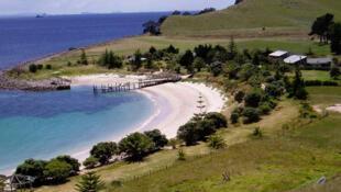 Một góc đảo Slipper ở New Zealand nay là sở hữu của một triệu phú Trung Quốc.