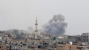 Yanayin yaki a Syria
