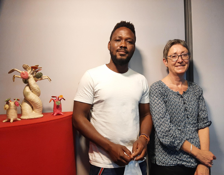 Elemawusi Agbedjidji  et Caroline Marcilhac
