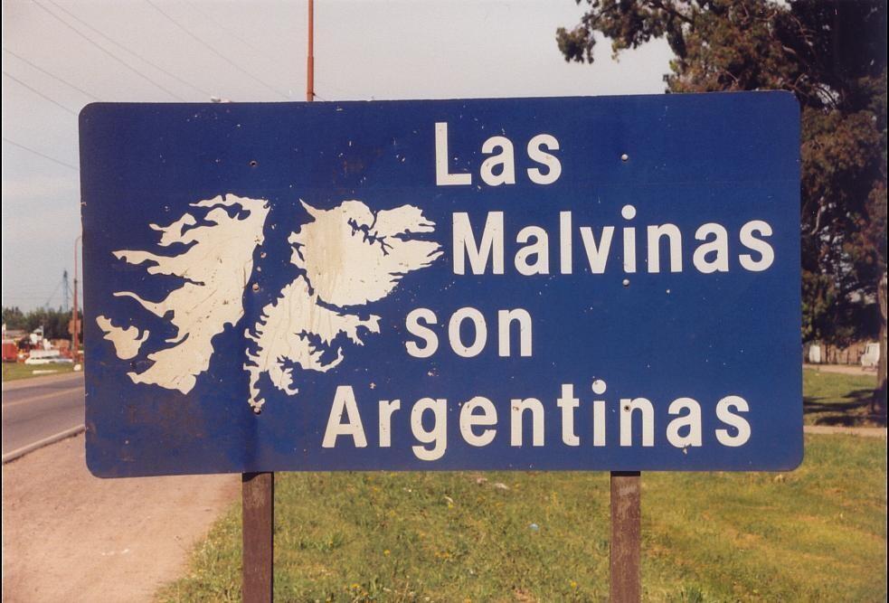 Argentina continua reivindicando o controle das ilhas Malvinas.
