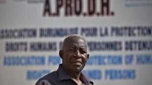 Dan rajion kare hakkin bil'adama a Burundi Pierre-Claver Mbonimpa.