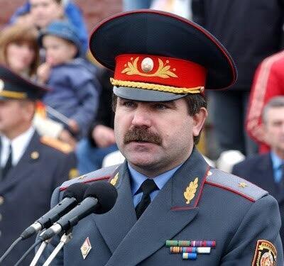Министр внутренних дел Белоруссии Анатолий Кулешов