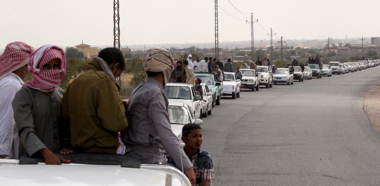 Watu wengi waliangamia katika mashambulizi yaliyotokea katika mji wa Sinaï.