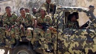 نظامیان اتیوپی در موگادیشو
