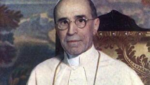 Eugenio Maria Giuseppe Giovanni Pacelli, élu pape le 2 mars 1939 sous le nom de Pie XII.