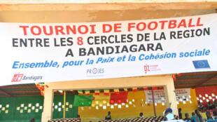 Affiche tournoi de football Ensemble pour la Paix et la Cohésion sociale - Bandiagara