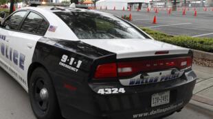 Marvin Scott avait été arrêté pour possession de marijuana dans un centre commercial du nord de Dallas (illustration).