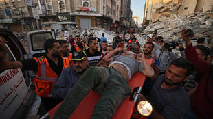 Gaza - Israël - Palestiniens blessés - 000_9A34TL