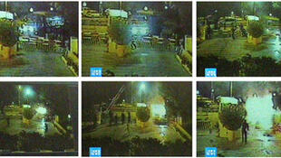 Closed circuit videos of the Marriott attack