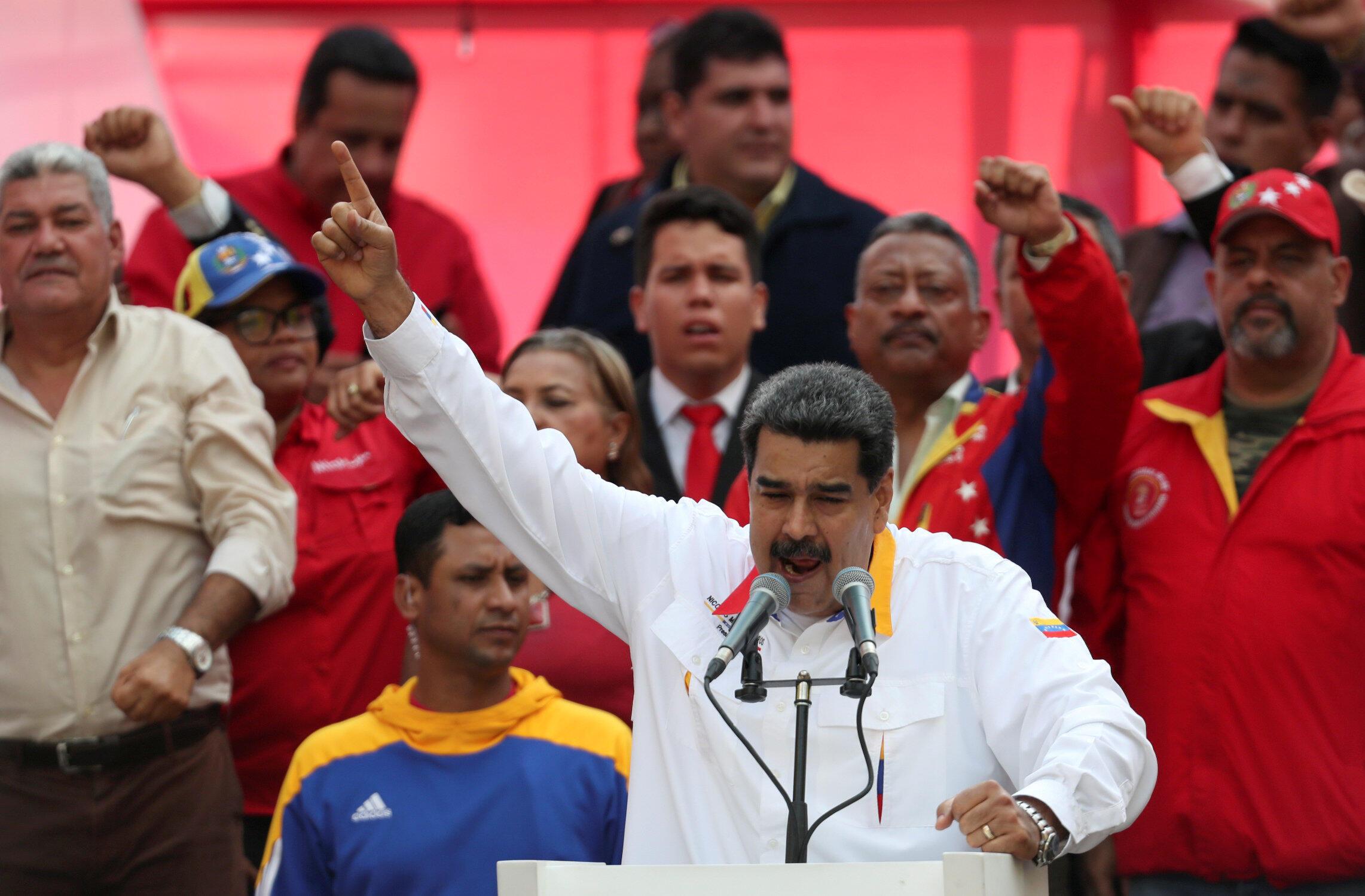 Nicolas Maduro, le 20 mai 2019, à Caracas. (Photo d'illustration)