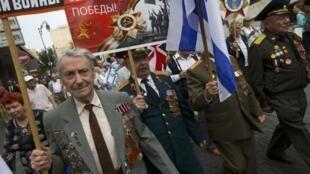 Парад ветеранов в День Победы в Иерусалиме, 9 мая 2013 года