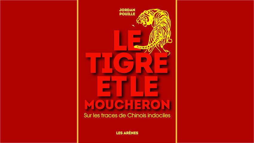 <i>Le Tigre et le Moucheron, </i>de l'auteur Jordan Pouille, paru aux Editions Les Arènes.