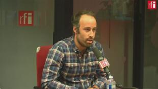 Arthur Dénouveaux, président de l'association Life for Paris  sur RFI, le 13/11/2019.
