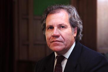 El nuevo secretario general de la OEA, Luis Almagro.