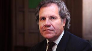 """O chanceler uruguaio, Luis Almagro: """"Mais do que qualquer droga, o pior flagelo de todos é o tráfico"""""""