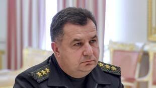 Stepan Poltorak, nouveau ministre de la Défense.