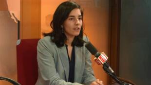Gabrielle Siry, porte-parole du Parti socialiste.