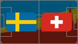 Coupe du monde 2018: vivez Suède-Suisse en direct