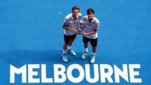 herbert mahut tennis remportent l'Open d'Australie, 27 janvier 2019
