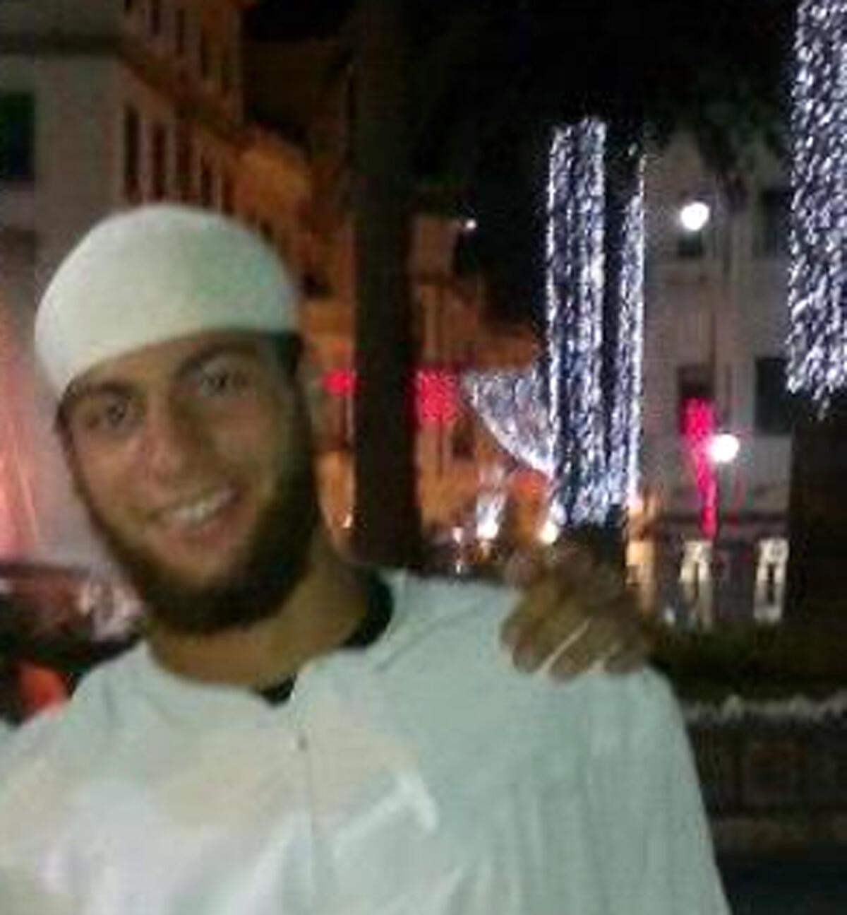 Ayoub el-Khazzani, nghi phạm chính vụ tấn cong không thành trên tàu Thalys, hôm 21/08/2015.