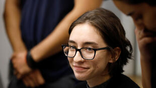 L'étudiante américaine Lara Alqasem compparaît devant une cour de justice à Tel-Aviv, le 11 octobre 2018.