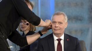 Le Parti social-démocrate (SDP) finlandais d'Antti Rinne a remporté, le 14 avril, les élections législatives finlandaises. Photo prise le 10 avril 2019.