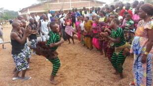 Peuples autochtones à Impfondo, au Congo.