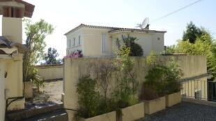 Một góc của biệt thự Fontaine Saint Georges ở Cannes (Pháp), được cho là món hối lộ dành cho ông Bạc Hy Lai. Ảnh chụp ngày 19/08/2013.