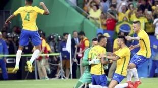 Brasil foi campeão depois de vencer a Alemanha nos pênaltis.