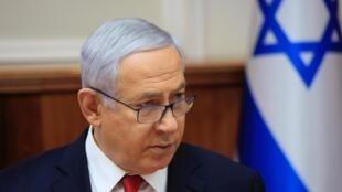 Benyamin Netanyahu, le 19 mai 2019.