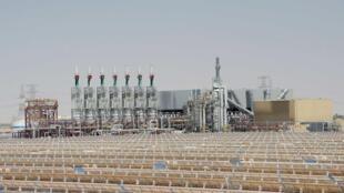 La centrale solaire «Shams 1» devrait pouvoir alimenter en électricité 20 000 foyers.