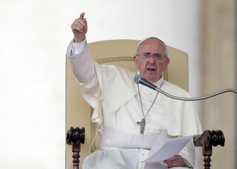 Выступление Папы Франциска в Риме, 11 сентября 2013 года