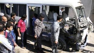 Les attentats qui ont frappé la communauté irakienne ont fait plus d'une cinquantaine de morts, le 19 mars 2013.