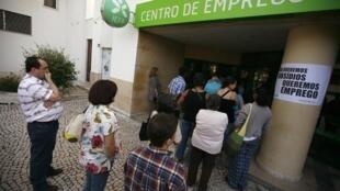 13 % des Portugais sont au chômage.