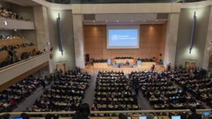 世界卫生大会在日内瓦闭幕。2018-05-26
