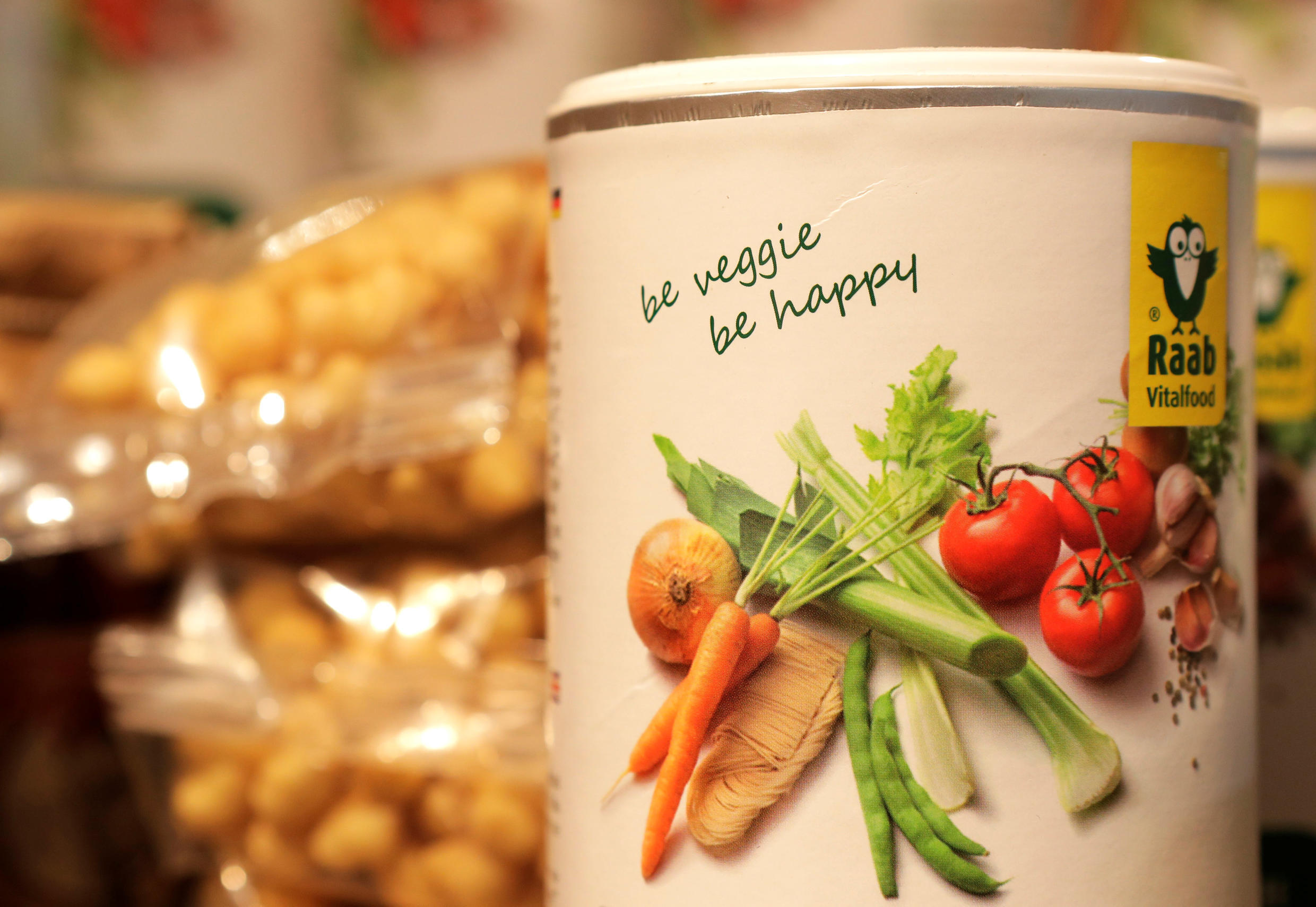 Around 5 percent of French people say they are vegan