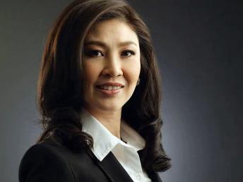 លោកស្រីយីនឡាក់(Yingluck) នាយករដ្ឋមន្ត្រីថៃ
